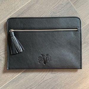 NEW Kat Von D vegan leather clutch